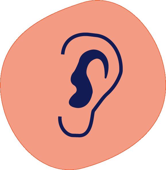 Écoute, soutien, conseils